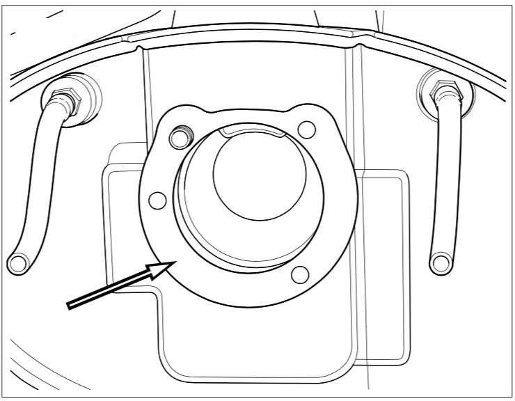 Air cleaner gasket diagram Harley Davidson Softail 2013