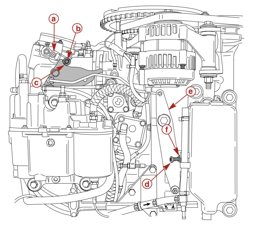 Throttle Arm 2002 2003 2004 2005 Mercury Outboard 150hp 175hp 200hp