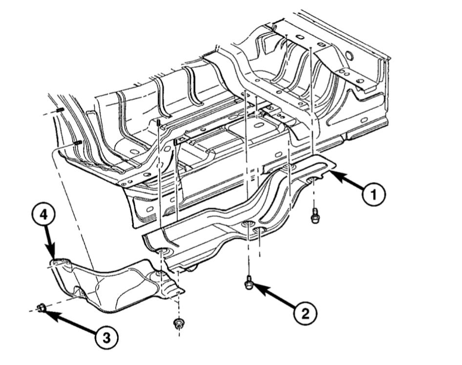 2004 Dodge Ram 1500 Performance Exhaust Flowmaster.