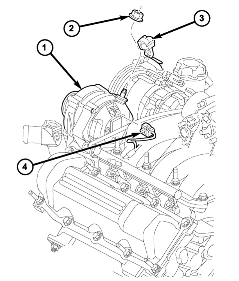 How to pull out bad alternator and but back in a substitute on full-size pickup truck
