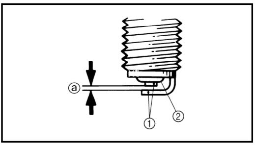 Inspect spark plug for worn electrode or damage and insulator color. Measure gap.